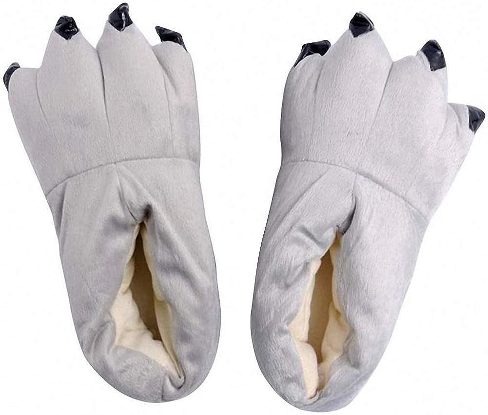 FashionFits Unisex Phoenix Mall trust Soft Plush Home Paw C Animal Costume Slippers