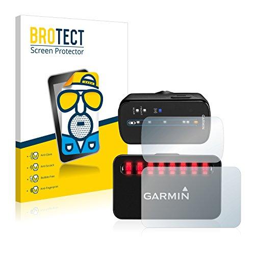 BROTECT Protector Pantalla Anti-Reflejos Compatible con Garmin Varia (Radar para Bicicletas) (2 Unidades) Pelicula Mate Anti-Huellas