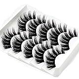 Vividy 5 Paris Fashion Thick Soft Lengthen 3D Fake Eyelashes