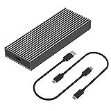 MiliPow M.2 NVME SSD Enclosure Adapter, USB 3.1 Gen 2 (10