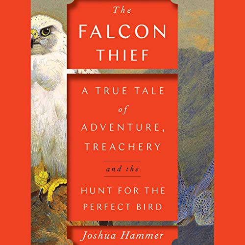 The Falcon Thief audiobook cover art