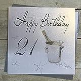 White Cotton Cards XLS21 - Tarjeta