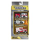 Tonka Real Tough Diecast First Responders - 3 Pack