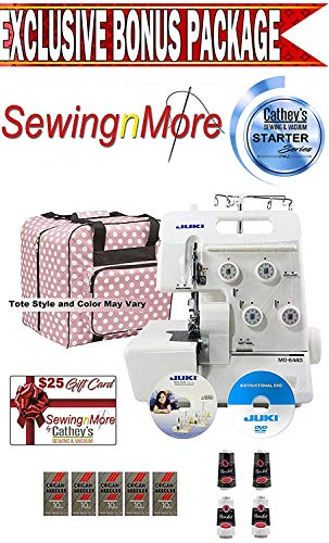 Cheapest Price! Juki MO-644D 2-needle, 2/3/4 Thread Serger w/ Exclusive Starter Series Bonus Package...
