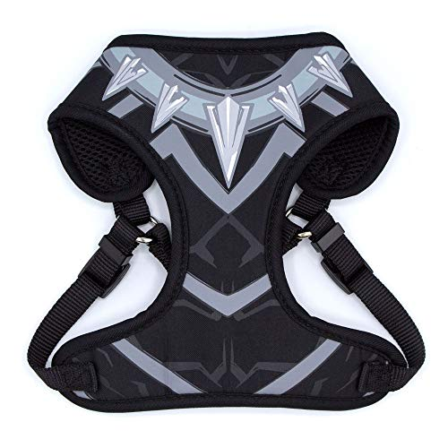 Marvel for Pets Comics Black Panther Harness for Dogs | Superhero Dog Harness | Large