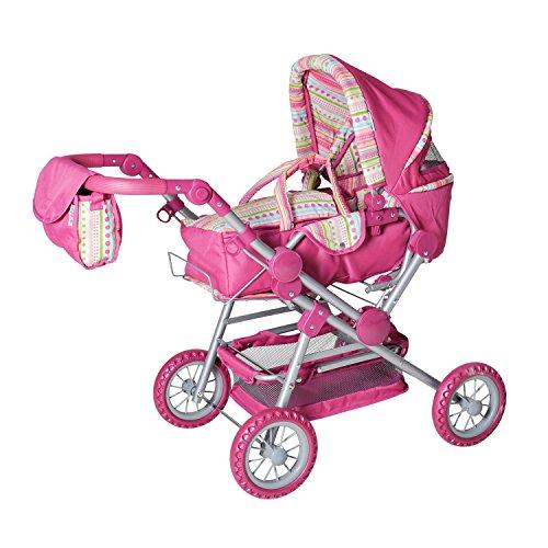 KNORRTOYS.COM 10838 Twingo S Candy - Cochecito de muñecas en color rosa