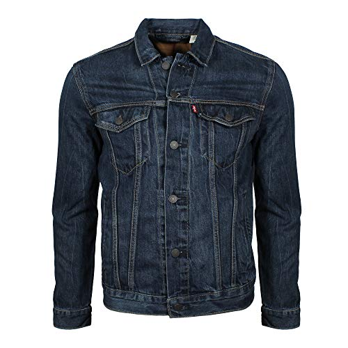 Denim The kind that doesn't stretch Patch chest pockets with buttoned flap, welt pockets on the sides, side hem adjustment