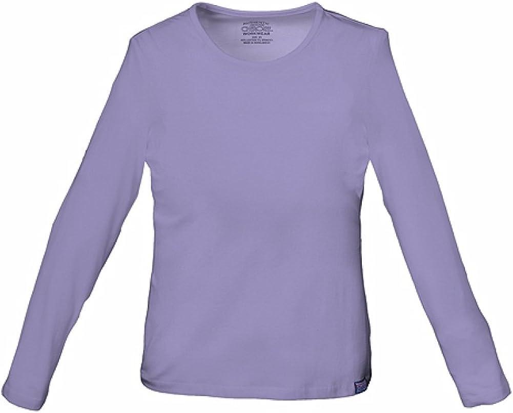 Cherokee Workwear Women Underscrubs Long Sleeve Knit Tee 4818