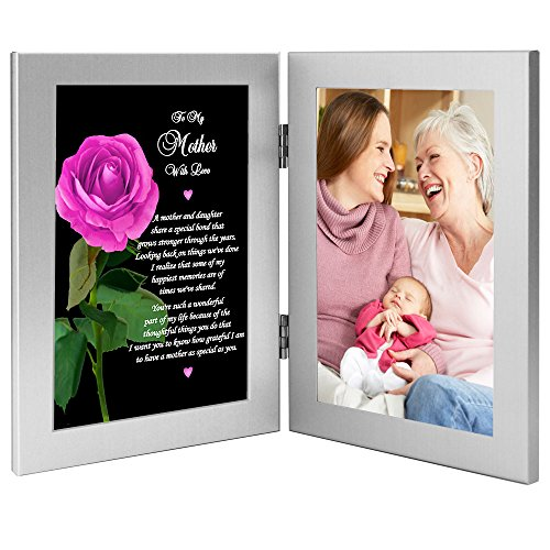 Geschenk für Mutter von Tochter für Sie zum Geburtstag, süßes Gedicht – Foto hinzufügen