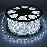 RAPIDE À ASSEMBLER - Le tube de lumière LED non dimmable d'un diamètre de 10,5 mm est rapide à assembler car il peut être plié dans toutes les directions et enroulé autour de presque n'importe quel objet. En conséquence, il n'y a pratiquement aucune ...
