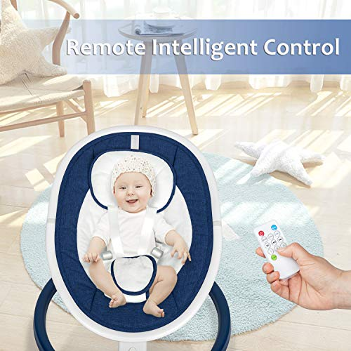 51NWsQ36LiL The Best Battery Operated Baby Swings in 2021 Reviews