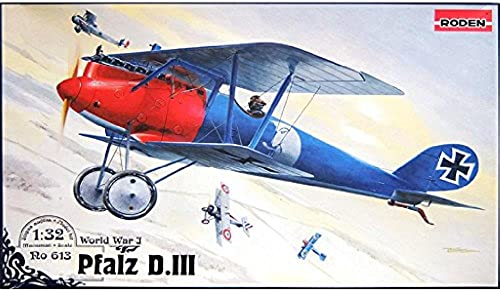 1 32 Deutsche Pfalz D.3 Doppeldecker Kampfer WW-1 (032T613)