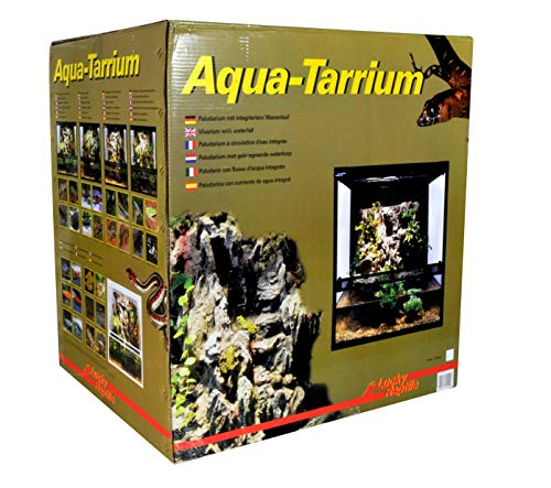 Lucky Reptile Aqua-Tarrium weiß, Glasterrarium mit Wasserfall