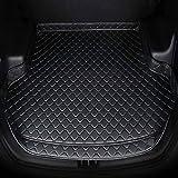Alfombrillas Para Maletero Trasero De Coche para Mazda 3 323 2006 2007 2008 2009 2010 2011 2012 2013 2014 2015 2016 2017 2018, Bandeja De Forro De Maleteros Cuero Alfombra Protectora Accesorios