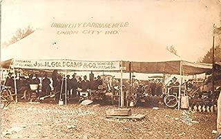 Union City Carriage MFG Co Union City, Indiana postcard