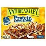 2X Nature Valley Protein Coconut & Almond Cereal Bars 4 x 40g