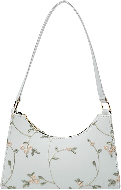 KEJINKCSEE Shoulder Purse for Women Floral Cute Nippon regular agency Special sale item Small Print Squa