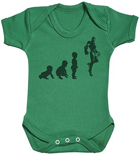 Baby Evolution to A Iron Man Body bébé - Gilet bébé - Body bébé Ensemble-Cadeau - Naissance Vert