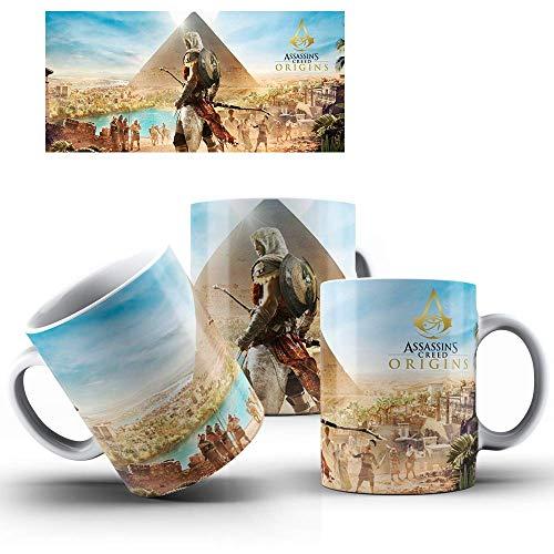 Caneca de Porcelana Presente Assassin's Creed Origins mod.91