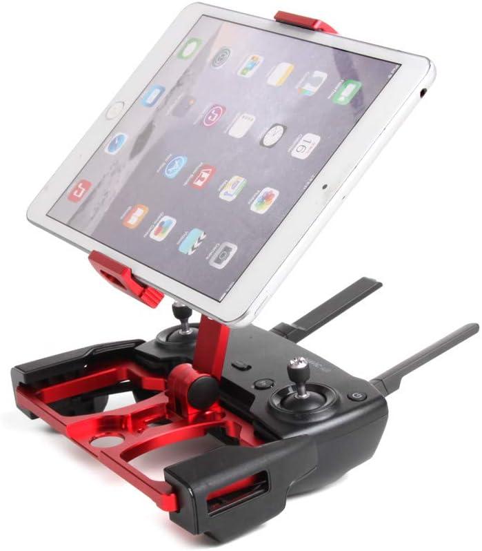 TwoCC Avion de voiture de jouet de contrôle de drone, bâti de support de moniteur de téléphone de comprimé pour Dji Mavic 2 / Pro/Air/Spark (rouge) Rouge