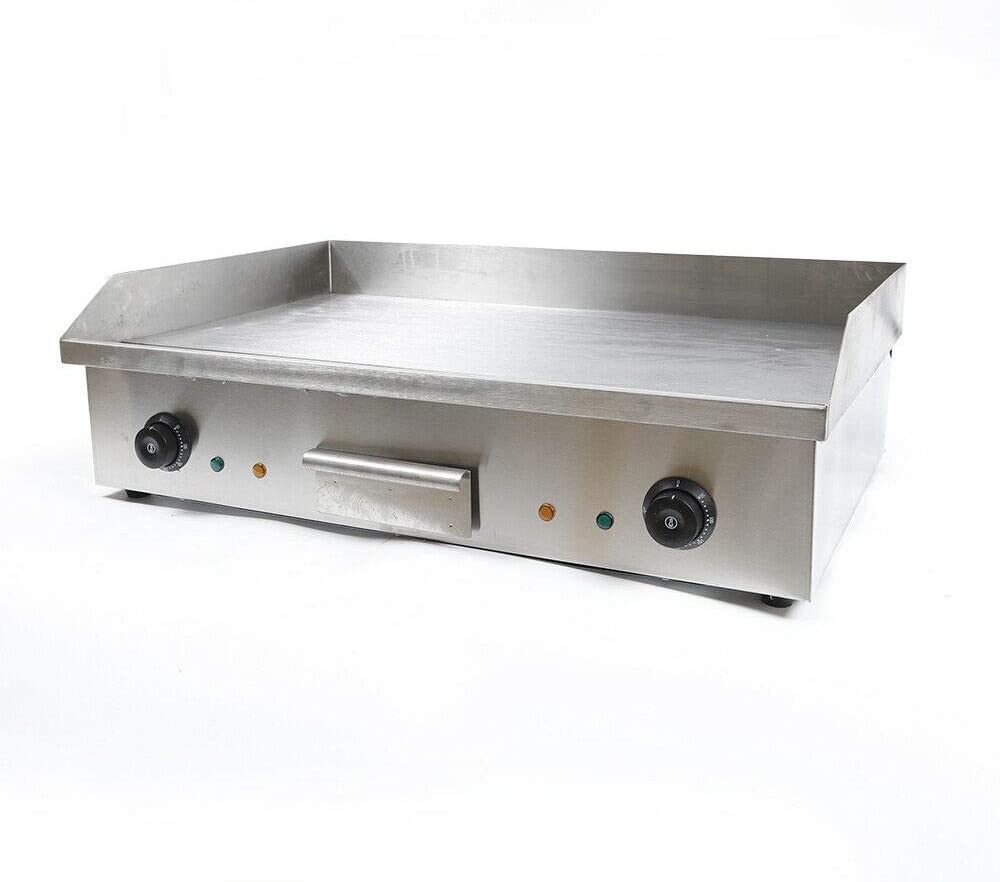 CNCEST Electric Countertop Griddle Stainless At Gorgeous the price Top Flat St