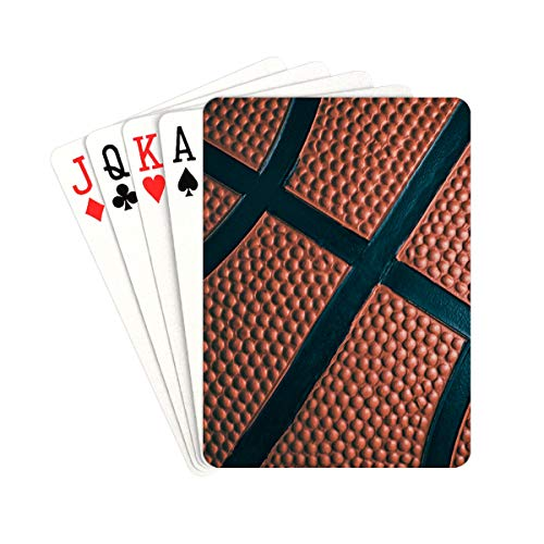 YXUAOQ Poker Card Closed View Basketball Poker Kartenspiel einzigartig für Kinder