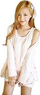 Luanna Jena ルームウェア レディース パジャマ 3点セット ひんやり素材 春夏向け QW613