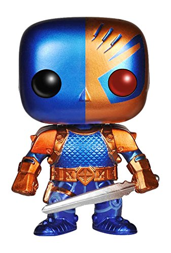 Pop Heroes Deathstroke Vinyl Figure Metallic Version