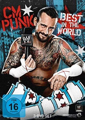 WWE - CM Punk: Best in the World [3 DVDs]