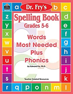 Spelling Book, Level 5-6 by Dr. Fry