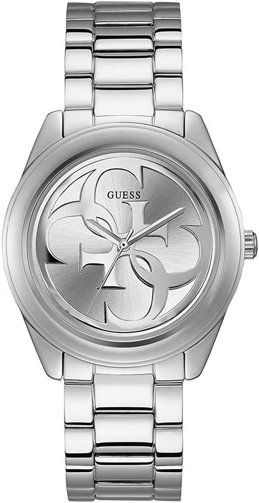 Guess, orologio per donna, in acciaio inossidabile lucido W1082L1