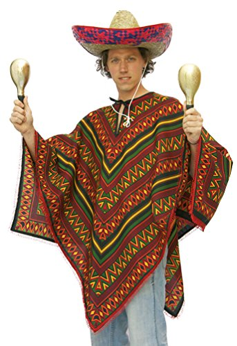 Poncho Mexicain Taille - 54