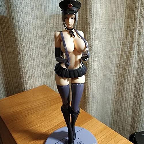 Jin Chuang Sexy Girl Anime Figure,Detachable Shiraki Maiko 27cm, Alphamax Skytube, Vice President Strap Skirt Prison School, Sexy Anime Model,PVC Action Figure Model Toys