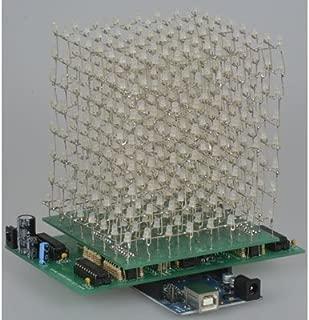 Jameco Kitpro JE888-WHT LED Cube Kit, PCB Version, 8