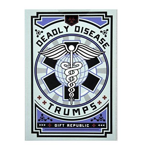 Preisvergleich Produktbild Gift Republic Tödliche Krankheit Trumps Kartenspiel