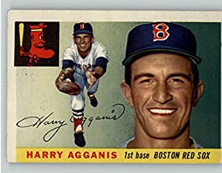 1955 Topps #152 Harry Agganis Red Sox VG-EX 337877 Kit Young Cards