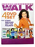 Leslie Sansone: Just Walk 4 DVD Set - Walking Off the Pounds - The Tone Every Zone Walk - Walk to the Hits (All Time Favorites & Radio Remixes)