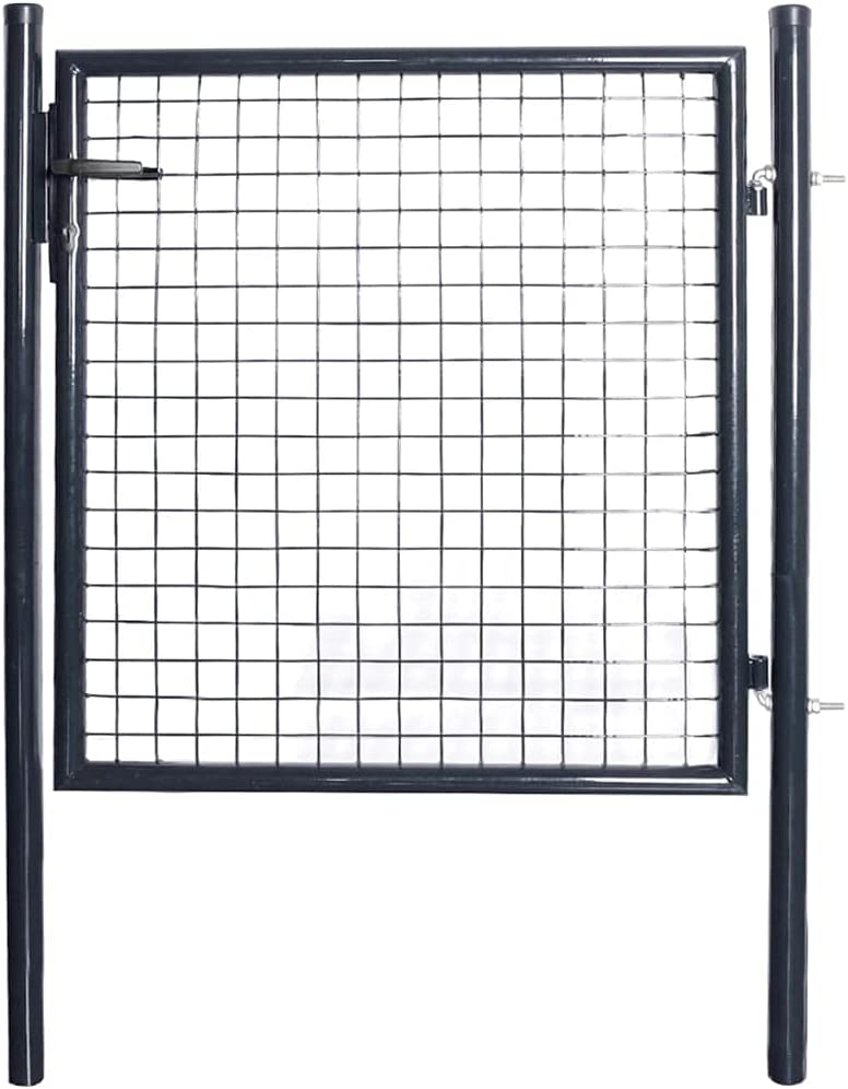 Mesh Fees free Garden Gate Easy Mail order cheap Installation System Locking key With