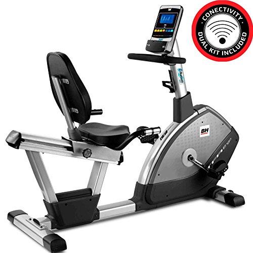 BH Fitness i.TFR Ergo H650I Bicicleta reclinada - Semiprofesional - 12Kg Volante de inercia - para recuperar de Lesiones