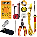 araMarket 8 IN 1 Solder Iron kit, Electric 25W Soldering Iron Kit Set for Beginners with Digital...