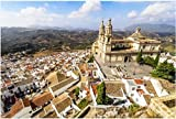 NOBRAND Rompecabezas De 1000 Piezas Parroquia De Nuestra Señora De La Encarnación Olvera Cádiz Provincia Andalucía España Rompecabezas De Juegos De Bricolaje 1000 Piezas