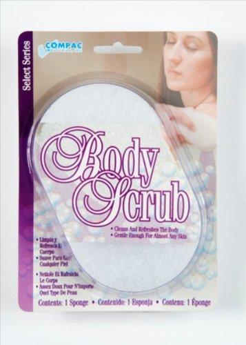 Compac Body Scrub Sponge(Pack Of 72)