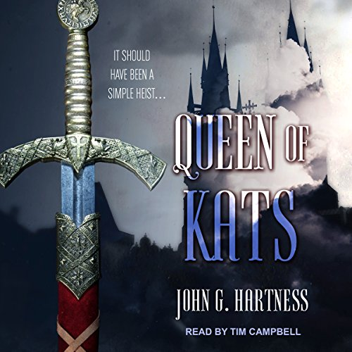 Queen of Kats audiobook cover art