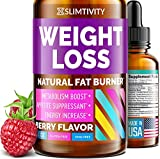 Appetite Suppressant for Weight Loss - Great Way to Lose Weight Fast - Advanced Metabolism Booster for Weight Loss Works as Perfect Hunger Suppressant for Women - 1 Fl. Oz.