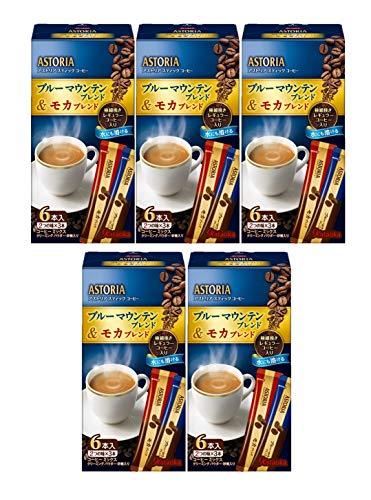 ASTORIA Stick Kaffee Blue Mountain Blend & amp; mokka Blend 6P (2Arten je 3P) ~ 5Boxen