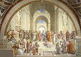 Raphael: die School if Athen. Kunstdruck/Poster. Format A2