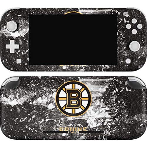 Skinit Decal Gaming Skin Compatible with Nintendo Switch Lite - Officially Licensed NHL Boston Bruins Frozen Design