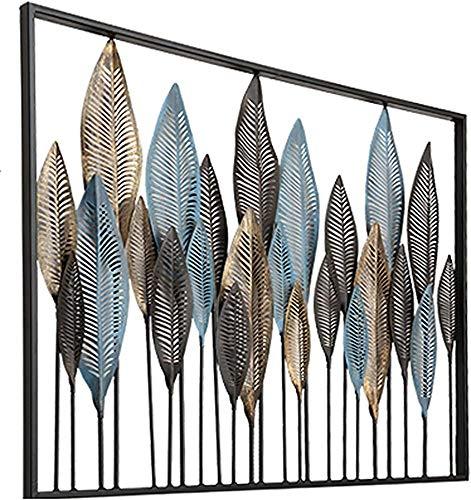 Metallwandskulptur, XXL Wandgestaltung, Handarbeit, Luxus, Metall, Wandreliefs, 3D-Metall-Malerei, moderne Wald Wand,Metallic