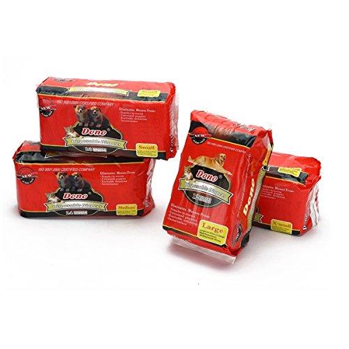 PETCUTE Almohadillas de Entrenamiento para Perros Perro Pañales Empapadores de Entrenamiento para Perros Super Absorbente Toallitas de Entrenamiento para Mascotas
