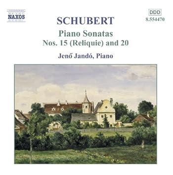 SCHUBERT: Piano Sonatas, D. 959 and D. 840, 'Reliquie'